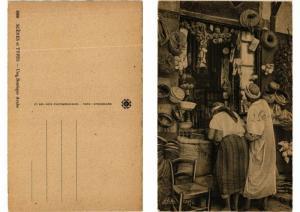 CPA AK ALGERIA - Une Boutique Arabe - Scenes et Types (773888)