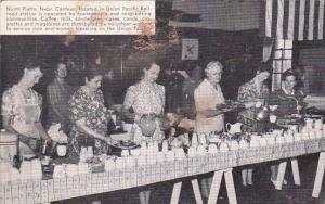 Volunteers Serving In The Canteen Union Pacific Railroad Station North Platte...