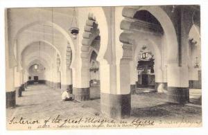ALGER - Interieur de la grande Mosquee, Rue de la marine, 00-10s