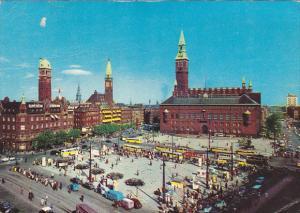 Denmark Copenhagen Town Hall Square