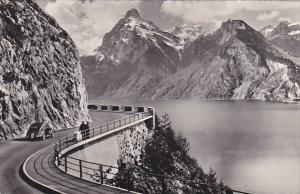 Switzerland Axenstrasse mit Urirotstock Photo