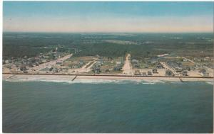 Bethany Beach as seen from the air, unused Postcard