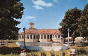 Andover New Jersey~Perona Farms~Moresque Dining Cuisine~Pool & Umbrella 1957