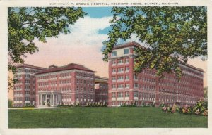 DAYTON, Ohio, 1930-40s; Brown Hospital , Soldier's Home