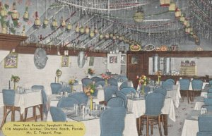 DAYTONA BEACH , Florida , 30-40s ; New York Paradise Spaghetti House