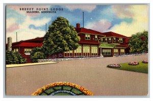 Breezy Point Lodge Brainerd Minnesota Vintage Standard View Postcard