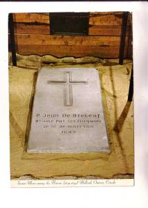 Sainte-Marie Among the Hurons, Grave Stone, Midland Ontario Photo H Moritz