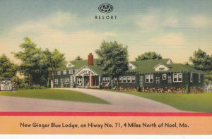 NOEL , Missouri, 1930-40s ; New Ginger Blue LOdge