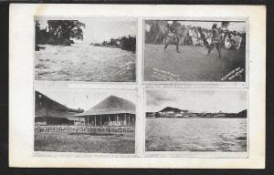 Multi-View Moro Natives PHILIPPINES Used c1910s