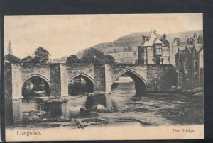Wales Postcard - Llangollen - The Bridge     T7206