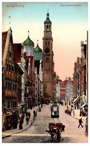 Germany  Augsburg karplinenstrasse
