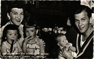 CPA AK PAT BOONE Dochters Linda, Cheryl, Deb Orah. Film Star Cinema (466050)