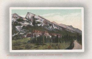BANFF , Alberta , Canada , 00-10s ; Hotel & Mt Rundle