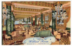 Washington, D.C., Willard Room, Willard Hotel