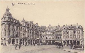 Place Des Martyrs, Louvain (Flemish Brabant), Belgium, 00-10s