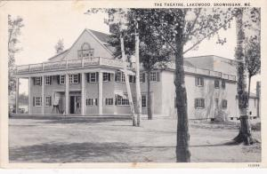 SKOWHEGAN,  Maine, 1910s; The Theatre, Lakewood