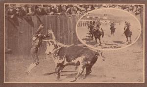 TIJUANA, Mexico, 1900-10s; Horse Racing & Bull Fighting
