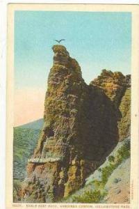 Eagle Nest Rock, Gardiner Canyon, Yellowstone park, 1910s