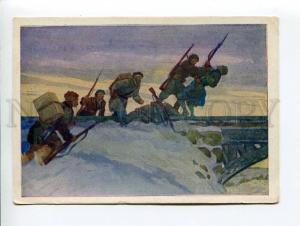 271532 WWII USSR Kochergin attack Leningrad partisans 1943 yea