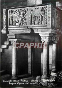 Postcard Modern Groppoli Presso Pistoia Chiesa di Michele Pulpito (Opera del ...