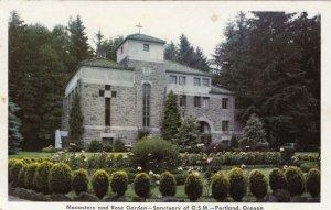 PORTLAND, Oregon, 1920-40s; Monastery and Rose Garden - Sanctuary of O.S.M.
