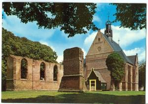 Netherlands, Bergen, Ruine, unused Postcard