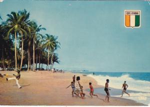 Ivory Coast , ABIDJAN ,  La Plage , 50-70s