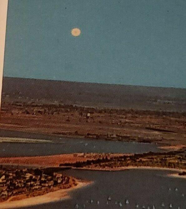 Vintage Postcard Mission Bay Park San Diego California Ocean view   380