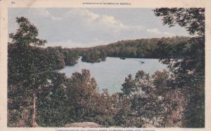 MUSKOKA LAKE , Ontario, Canada, 1910-30s ; South on Jefferson River