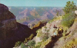 Arizona Grand Canyon National Park On Bright Angel Trail Arizona