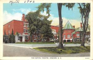 Concord New Hampshire~The Capitol Theatre~1920s PC