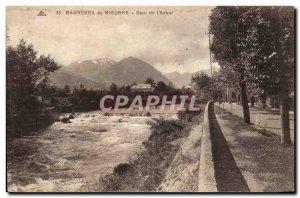 Bagnerres Bigorre Old Postcard Quai de l & # 39adour