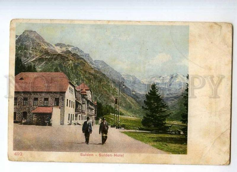 247630 ITALY SULDEN Sulden Hotel Vintage postcard