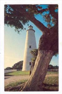 Lighthouse, Ocracoke Lighthouse, Ocracoke Island, North Carolina, 1940-1960s