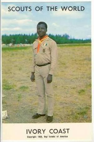 Boy Scouts of the World, IVORY COAST SCOUTS, 1968