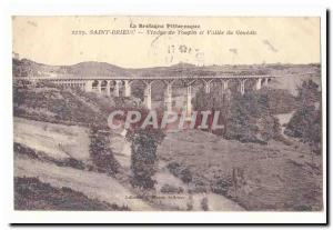 St Brieuc Old Postcard Viaduct Toupin and valley of Gouédic