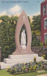 Vermont Barre Our Lady Of Fatima