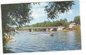 View Of The Scenic Nottawasaga River At Wasaga Beach, Ontario, Canada, 1940-1...