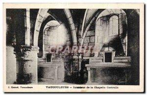 Postcard Old Vancouleurs Intarieur Chapel Castralle