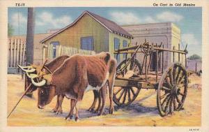 Ox Cart , Mexico , 30-40s