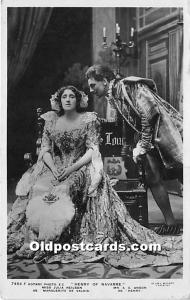 Henry of Navarre, Miss Julia Neilson, Mr AE Anson As Marguerite De Valois and...