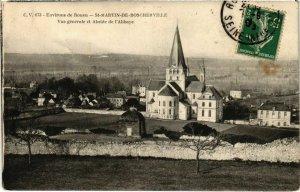 CPA Env. de ROUEN - St-MARTIN-de-BOSCHERVILLE - Vue générale et Abs (105128)
