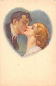 Artistic, Romantic Couple, Lovers, Kiss, Heart