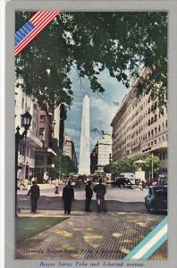 Argentina Buenos Aires Roque Saenz Pena and Libertad Avenue