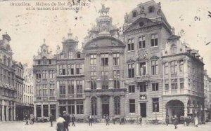 Belgium Brussels Maison du Roi de Baviere et la maison des Brasseurs 1911