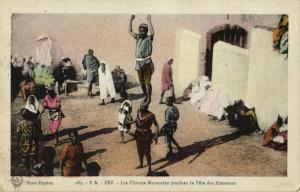 CPA Maroc Fez Les Clowns Marocains (24856)
