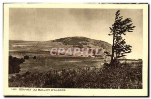 Old Postcard From Summit Ballon d'Alsace