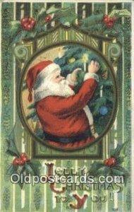 Santa Claus 1911 postal used 1911