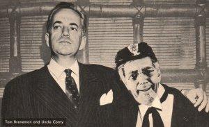 Hollywood, California, CA, Tom Breneman & Uncle Corny, Vintage Postcard g9357