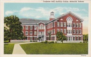 Indiana Richmond Carpenter Hall Earlham College Curteich
